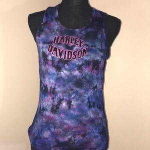 Harley Davidson tie dyed tank